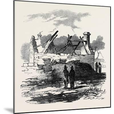 Cabin of Pat. Macnamara, Village of Clear--Mounted Giclee Print