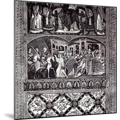 Rome Italy 1875 Legend of St. Alexius: Fresco of the Tenth Century--Mounted Giclee Print