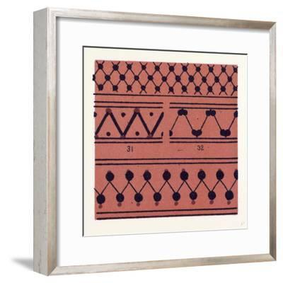 Greek Ornament and Etruscan Ornament--Framed Giclee Print