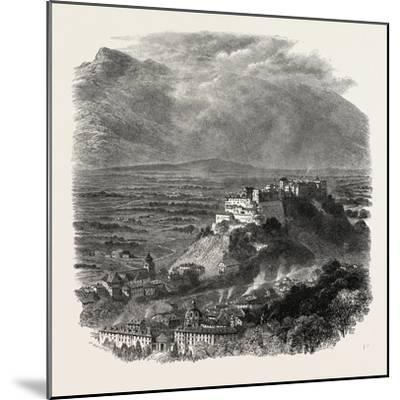 Salzburg, Austria, 19th Century--Mounted Giclee Print