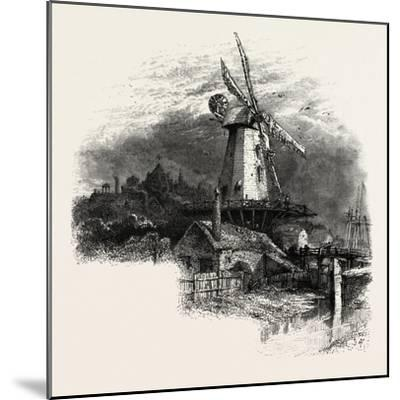 The Old Windmill at Rye, Kent, UK--Mounted Giclee Print