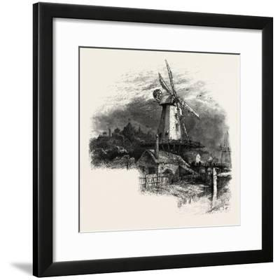 The Old Windmill at Rye, Kent, UK--Framed Giclee Print