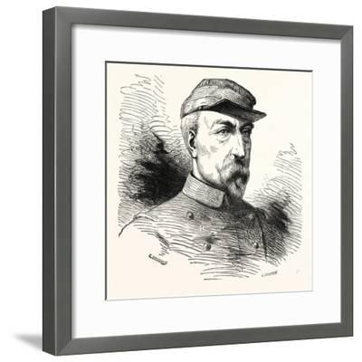 Franco-Prussian War: General Ducrot, 1817 - 1882, French--Framed Giclee Print