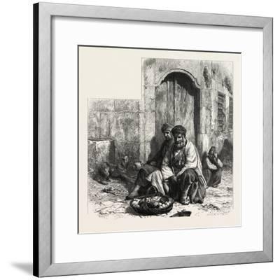Kurdish Dealers, Constantinople, Istanbul, Turkey, 19th Century--Framed Giclee Print