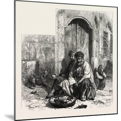 Kurdish Dealers, Constantinople, Istanbul, Turkey, 19th Century--Mounted Giclee Print