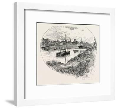 Selby, a Town and Civil Parish in North Yorkshire, England, UK--Framed Giclee Print