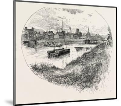 Selby, a Town and Civil Parish in North Yorkshire, England, UK--Mounted Giclee Print