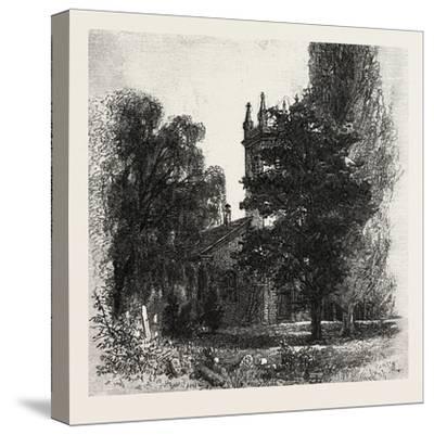 St. Mark's Church, Niagara, Canada, Nineteenth Century--Stretched Canvas Print