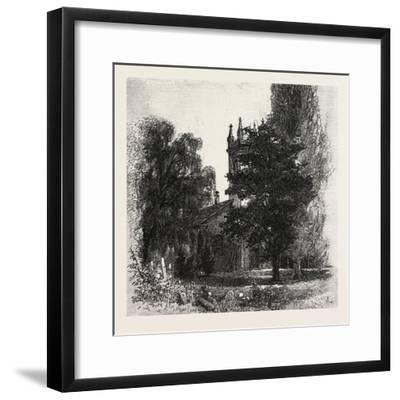 St. Mark's Church, Niagara, Canada, Nineteenth Century--Framed Giclee Print