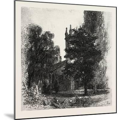 St. Mark's Church, Niagara, Canada, Nineteenth Century--Mounted Giclee Print