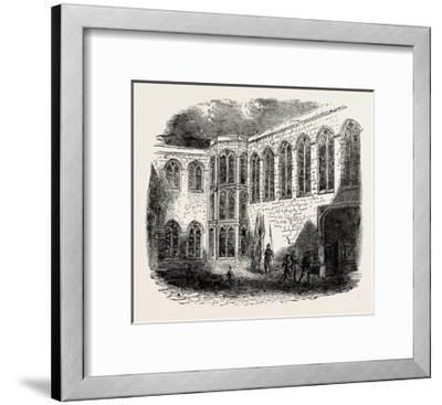 Crosby Place the Palace of Richard III--Framed Giclee Print