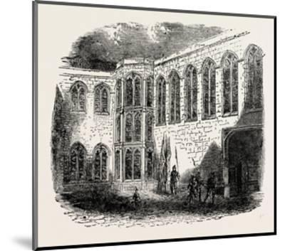 Crosby Place the Palace of Richard III--Mounted Giclee Print
