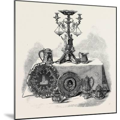 Plate Presented to Henry Workman Esq. of Evesham--Mounted Giclee Print