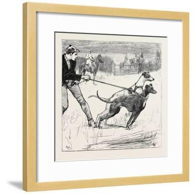 Master Magrath, the Slipper Waiting for the Signal Go!--Framed Giclee Print