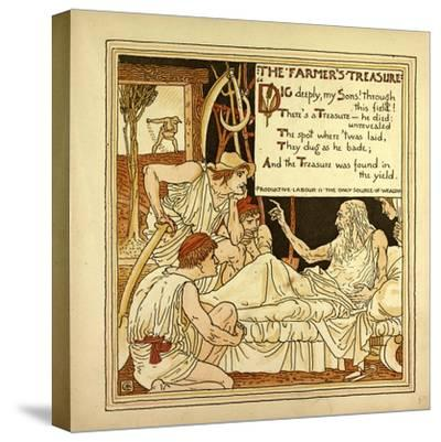 The Farmer's Treasure--Stretched Canvas Print