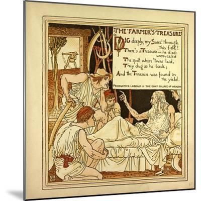 The Farmer's Treasure--Mounted Giclee Print