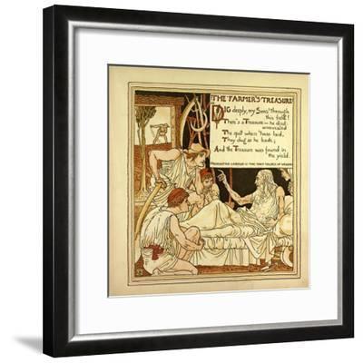 The Farmer's Treasure--Framed Giclee Print