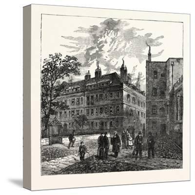 Clifford's Inn London--Stretched Canvas Print