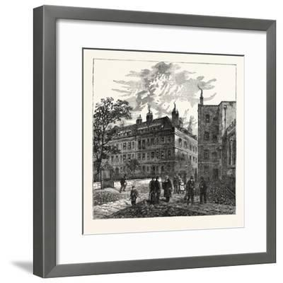 Clifford's Inn London--Framed Giclee Print