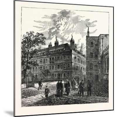 Clifford's Inn London--Mounted Giclee Print