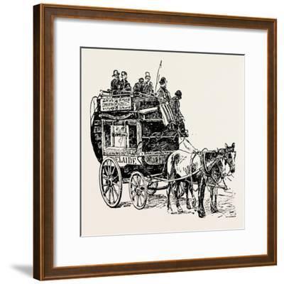An Omnibus--Framed Giclee Print