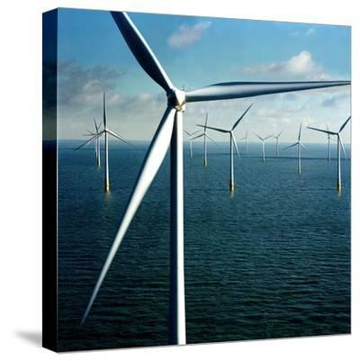 Wind Farm--Stretched Canvas Print