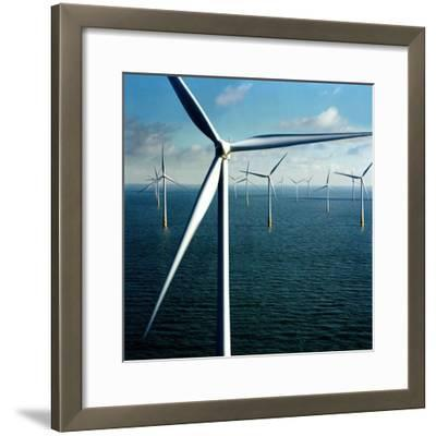 Wind Farm--Framed Giclee Print
