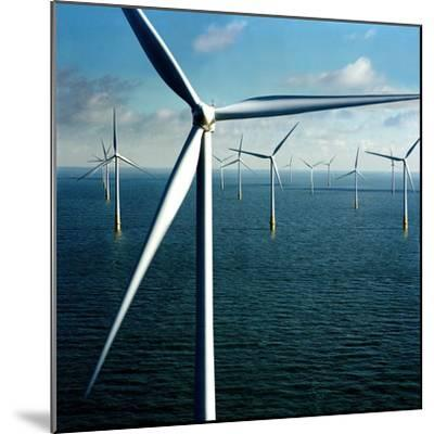 Wind Farm--Mounted Giclee Print