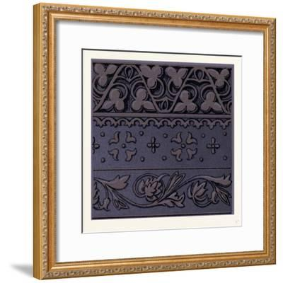 Renaissance Ornament--Framed Giclee Print