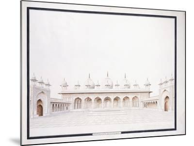 The Moti Musjid in the Fort of Agra, C. 1815--Mounted Giclee Print