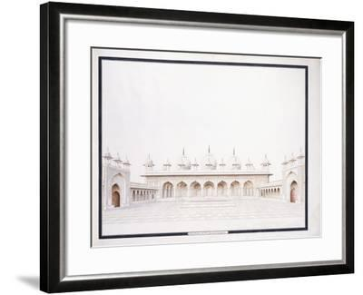 The Moti Musjid in the Fort of Agra, C. 1815--Framed Giclee Print
