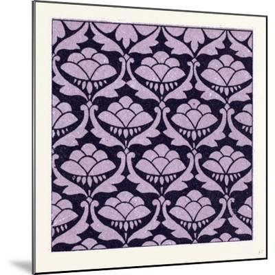 Indian Ornament--Mounted Giclee Print
