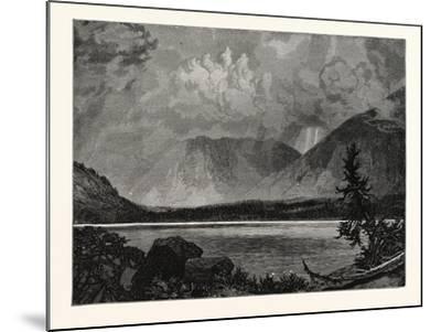 View of Moore's Lake, Utah, United States of America--Mounted Giclee Print