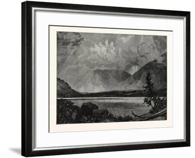View of Moore's Lake, Utah, United States of America--Framed Giclee Print