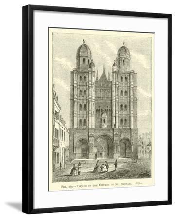 Facade of the Church of St Michael, Dijon--Framed Giclee Print