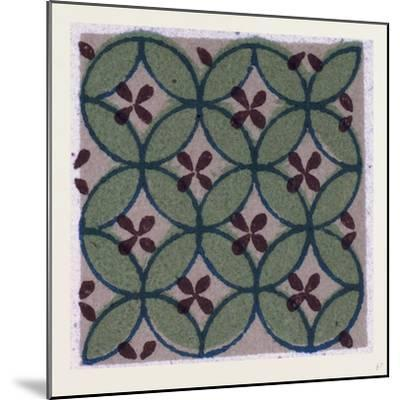 Chinese Ornament--Mounted Giclee Print