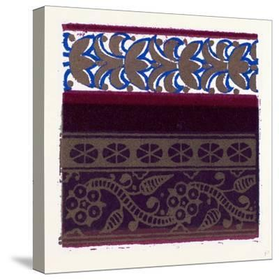 Indian Ornament--Stretched Canvas Print