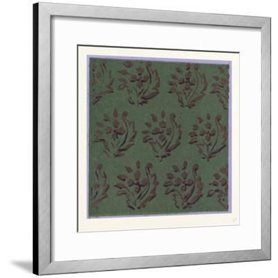 Indian Ornament--Framed Giclee Print