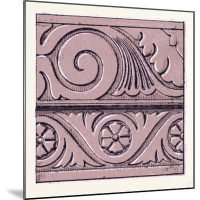 Renaissance Ornament--Mounted Giclee Print