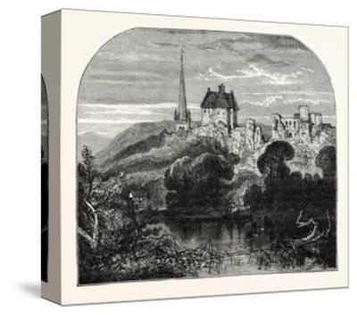 Monmouth Castle--Stretched Canvas Print