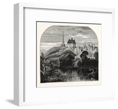 Monmouth Castle--Framed Giclee Print