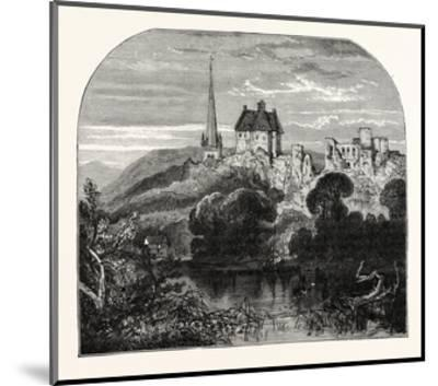 Monmouth Castle--Mounted Giclee Print