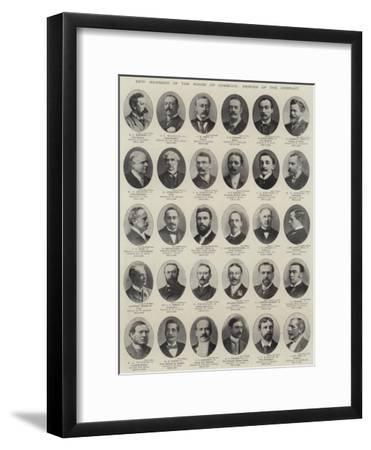 New Members of the House of Commons, Heroes of the Conflict--Framed Premium Giclee Print