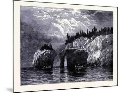 Isle Royale United States of America--Mounted Giclee Print