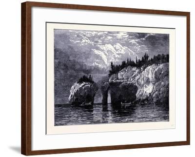 Isle Royale United States of America--Framed Giclee Print