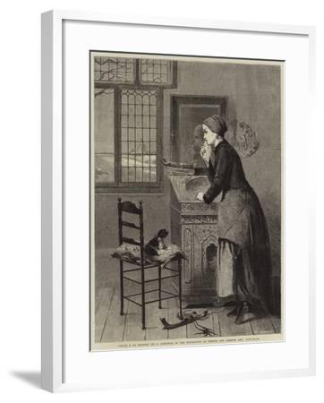 Seule a La Maison--Framed Giclee Print
