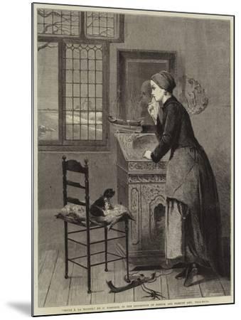 Seule a La Maison--Mounted Giclee Print