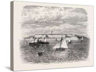 Fort Warren, USA, 1870s--Stretched Canvas Print