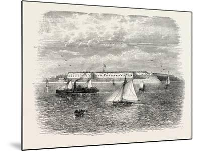 Fort Warren, USA, 1870s--Mounted Giclee Print