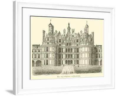 Chateau of Chambord--Framed Giclee Print
